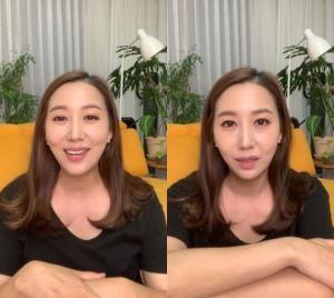 """'암 투병' 민지영, 수술 앞두고 라방 """"행복하고 감사했다"""""""