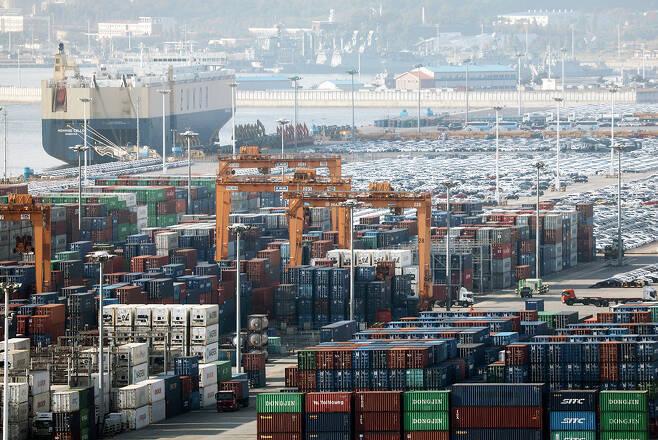9월1~20일 수출이 전년동기대비 22.9% 증가했다. / 사진=뉴시스