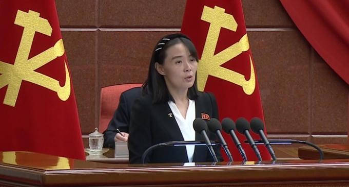 """김여정 """"종전선언, 흥미로운 제안… 건설적 논의 의향 있다"""""""