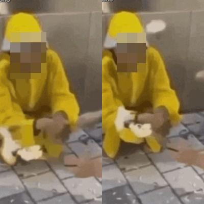 """""""담배 사와"""" 할머니 때리고 조롱한 10대 5명, 검찰 송치"""