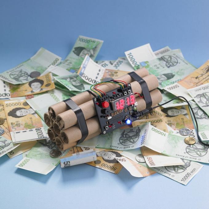 """가계·기업 빚 4000조 첫 돌파… """"GDP보다 2배 더 많다"""""""