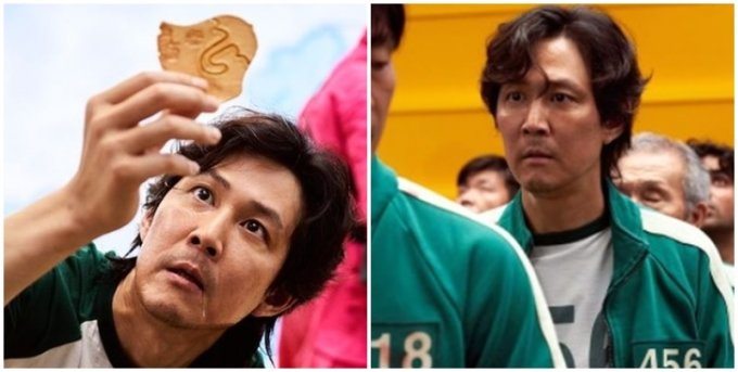 '오징어게임' 이정재, 선한 역으로 흥행성공
