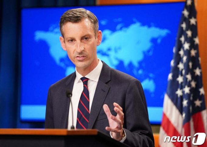 네드 프라이스 미국 국무부 대변인. © AFP=뉴스1 © News1 우동명 기자