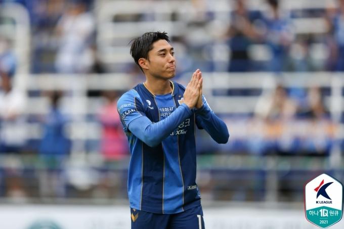 울산 현대 이동준. (한국프로축구연맹 제공) © 뉴스1