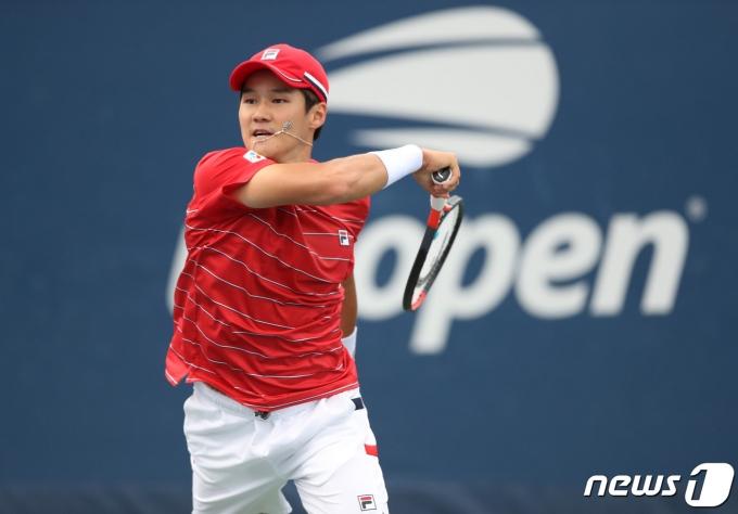 남자 테니스 간판 권순우.. © AFP=뉴스1