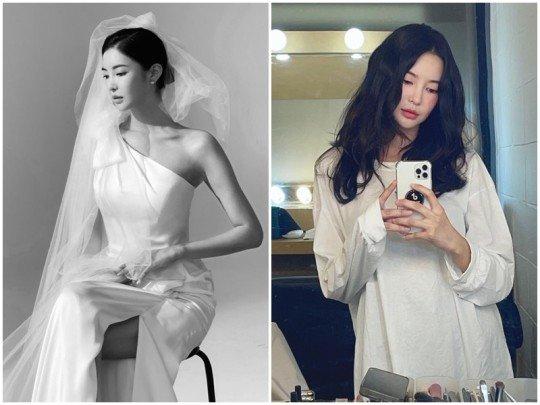"""NS윤지, 오늘 비연예인과 결혼…  """"교제 3개월만에 양가 허락"""""""