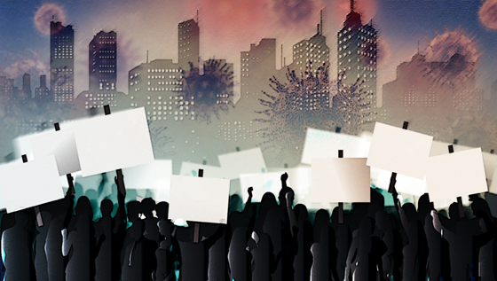 코로나로 인한 사회적 거리두기가 지속되자 소상공인이 반발하고 있다. /사진= 임종철 머니투데이 디자인기자