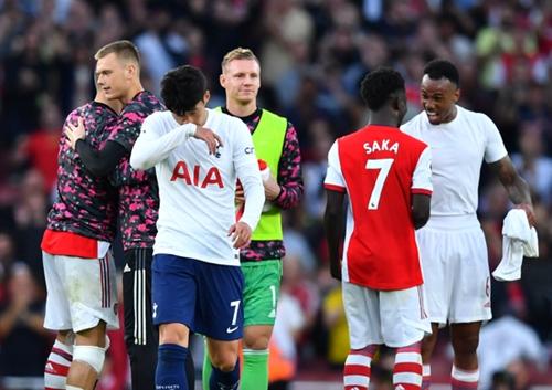 27일(한국시각) 토트넘 홋스퍼는 영국 런던 에미레이츠 스타디움에서 열린 2021-22 잉글랜드 프리미어리그 6라운드 아스널전에서 1-3 패배를 기록했다. /사진=로이터