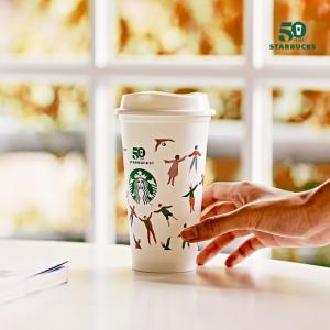 """""""리유저블 컵 받아 가세요""""… 스타벅스, 28일 하루 다회용 컵에 음료 제공"""
