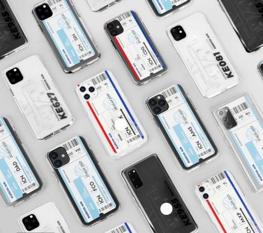 11번가에서 판매 예정인 대한항공 커스텀 굿즈 휴대폰 케이스./사진제공=11번가