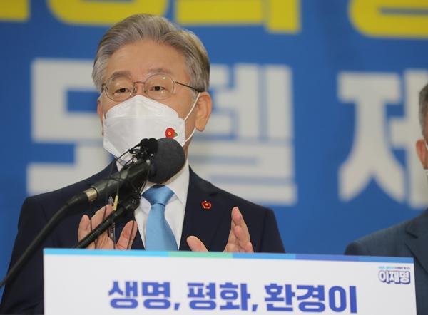 선호도, 이재명 오차범위 밖 1위… 윤석열·홍준표 '박빙'