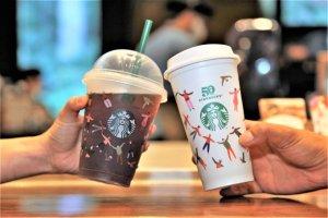 """""""놓치지 마세요""""… 스타벅스, 오늘 커피 주문하면 다회용 컵에 음료 제공"""