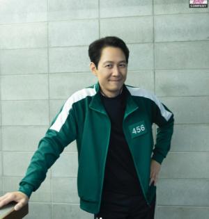 """'오징어게임' 456번 트레이닝 복 다시 입은 이정재… """"잘생김 묻었네"""""""