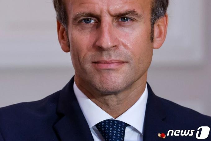 에마뉘엘 마크롱 프랑스 대통령. © AFP=뉴스1