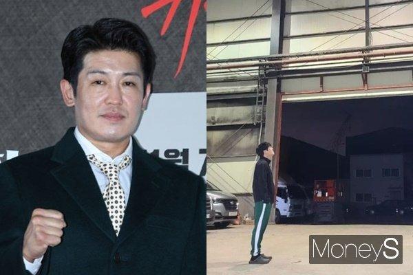 배우 허성태가 인스타그램에 근황을 공개했다. /사진=장동규 기자, 허성태 인스타그램