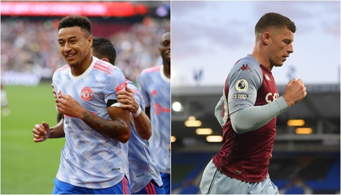 뉴캐슬 유나이티드가 다가올 이적시장에서 가장 먼저 영입할 선수 라인업을 공개했다. 사진은 맨체스터 유나이티드의 제시 린가드(왼쪽)와 첼시의 로스 바클리(오른쪽). /사진=로이터