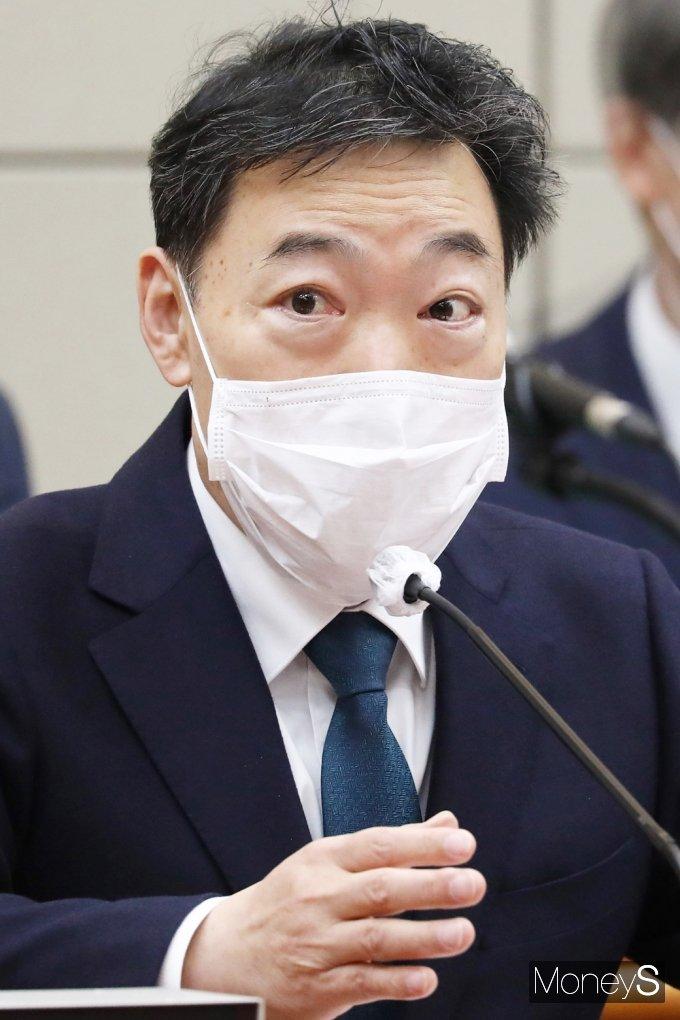 """[머니S포토] 김오수 """"성남시 고문변호사, 지역봉사 차원 한 것…대장동 사건 일체 관련 없어"""""""