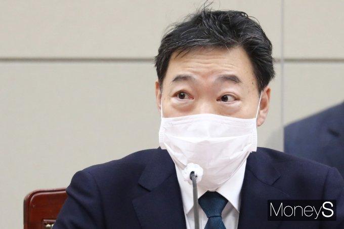"""[머니S포토] 김오수 """"대장동 사건, 여야와 시민단체 포함, 고발한 아마 유일한 사건일듯"""""""