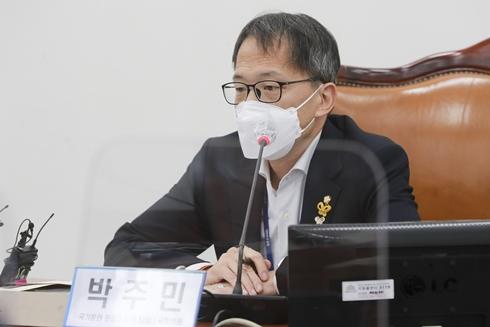 """박주민 """"제2 고발사주 의혹 드러날 것… 끝까지 추적"""""""