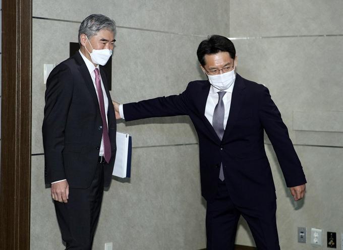 오늘 성김-노규덕 '북핵 협의'… 종전선언 논의 주목