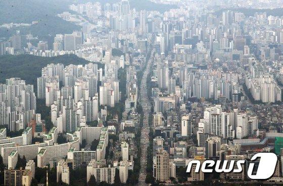 수도권 아파트 매수 심리, 하락세 '6주째' 지속