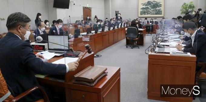 [머니S포토] 2021년도 '靑 비서실ㆍ국가안보실ㆍ경호처'등 국정감사 개회