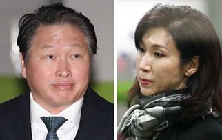 노소영, 최태원에 1조원대 재산분할 맞소송
