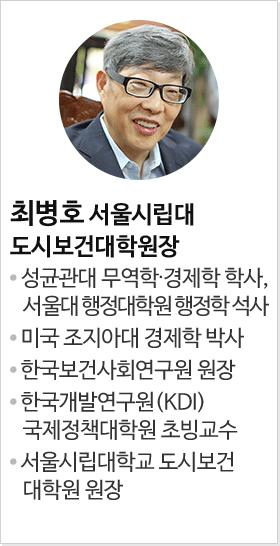 최병호 서울시립대 도시보건대학원장
