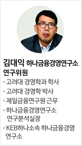 김대익 하나금융경영연구소 연구위원