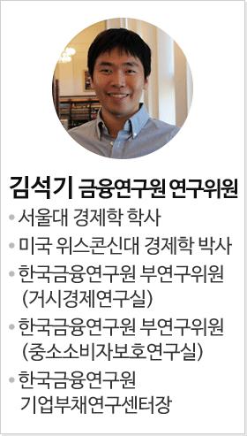 김석기 금융연구원 연구위원