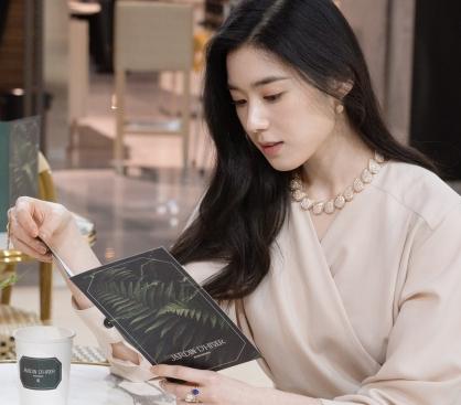 """정은채, 화려한 다이아 포인트…""""독보적인 아우라"""""""