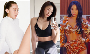 유이 한혜진 소유, 잘록 허리 만드는 운동법 3