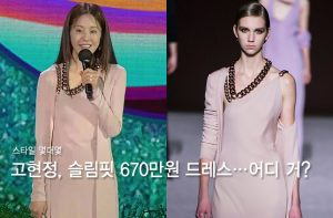 '백상 여신' 등극한 고현정, '670만원' 드레스+초호화 주얼리 패션