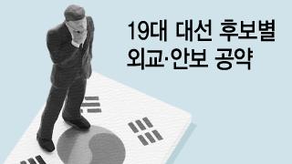 '우클릭' 경쟁속 안보공약은 '오락가락'…통일정책은 '실종'
