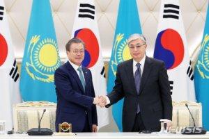 韓-카자흐 관계강화 후속논의…유라시아 '새 바람' 분다