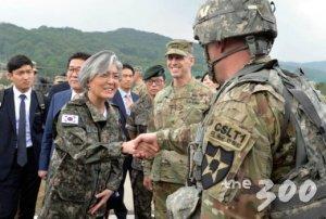 강경화, 20일 오산·평택 미군기지 방문…에이브럼스와 면담