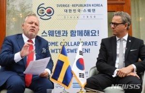 """스웨덴 한반도 특사 """"수주 내 북미 양측에 초청장 발송""""(종합)"""