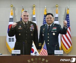 """美 합참의장 """"한반도 위협, 미국의 모든 군사능력으로 대응""""(상보)"""