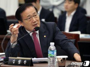 한국당 김성찬, 내년 총선 불출마 선언
