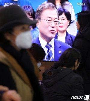 """[국민과의대화-문답]文 """"지소미아 종료, 일본이 원인제공"""""""