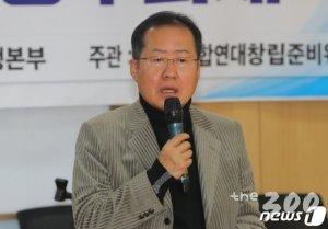 """홍준표 """"김세연이 쏜 쇄신깃발, 폄하말고 치열하게 논쟁해야"""""""
