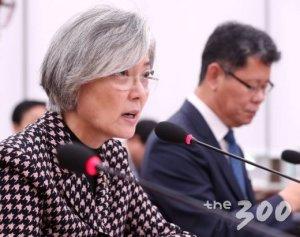 """강경화 """"주한미군 감축 논의되고 있지 않다"""""""