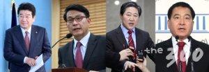 한국당 원내대표 후보등록 D데이…러닝메이트에 달린 '완주'