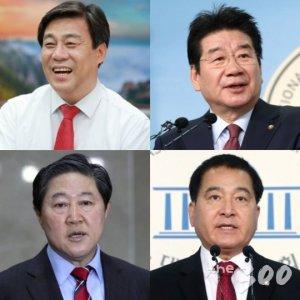 한국당 원내대표 경선 '4파전' 확정…김선동·강석호·유기준·심재철 4人4色