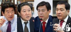 한국당 새 원내사령탑, 친황? 비박? 표심은 어디로…