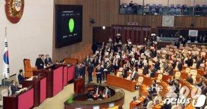 한국당 반발 속 '4+1 예산' 통과…이번엔 패스트트랙 충돌 불가피