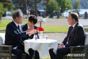 文대통령, 18일 스웨덴 총리와 회담…한반도 평화 지지 당부
