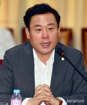 """與 송갑석 """"광주 민심은 민생·개혁입법…문재인 정부 성공"""""""