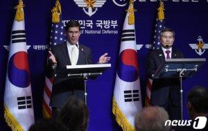 한미국방장관 24일 美서 회담…연합연습·방위비·사드 등 논의(상보)