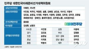 [단독]민주당 '대한민국미래선대위 닻 올린다